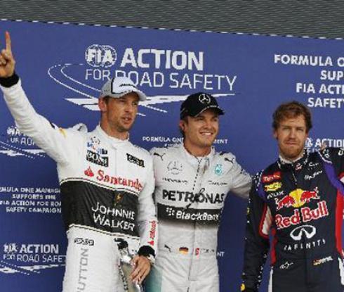 Розберг ще стартира първи за Гран при на Япония