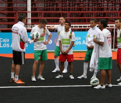 Националите направиха първа тренировка в Чили