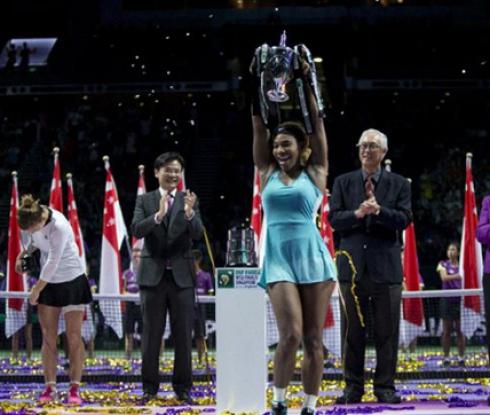Серина за пети път спечели заключителния турнир