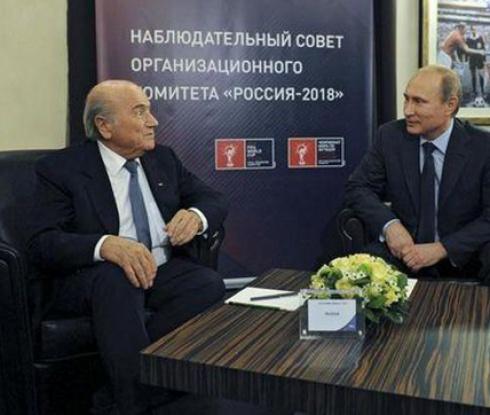 Блатер не вярва, че Русия може да спечели Мондиал 2018