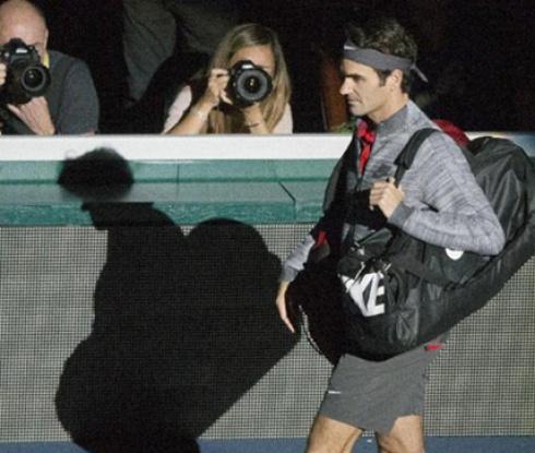 Федерер отпадна от Мастърс в Париж