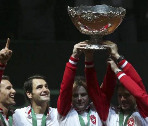 Швейцария спечели Купа Дейвис за първи път