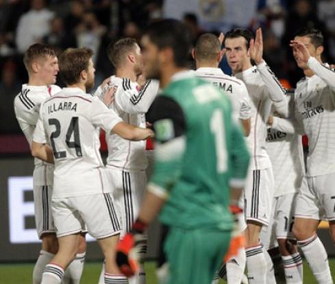 Реал Мадрид е на финал след разгром над Крус Асул (видео)