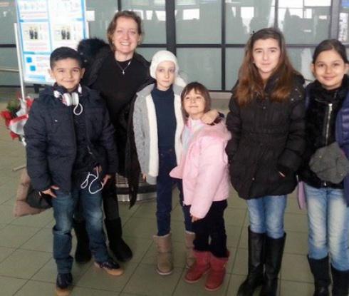 Бобка се прибра в София за празниците