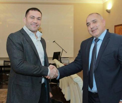 Бойко Борисов се срещна с Кубрат Пулев