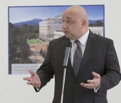 """Спортният министър се среща с тръст """"Синя България"""""""