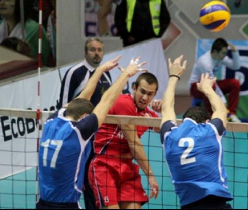 Левски победи ЦСКА във волейболното дерби при мъжете