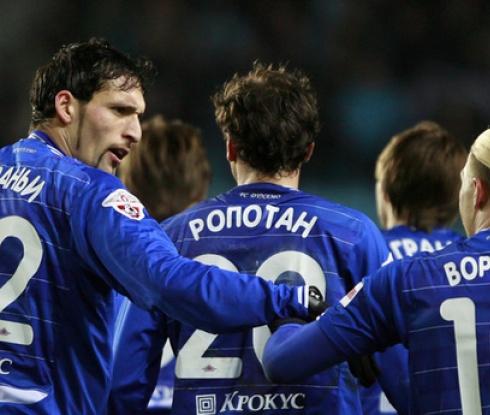 Динамо Москва - Андерлехт 3:1 (видео)