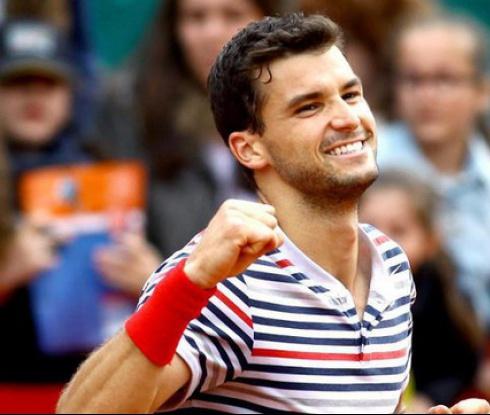 Гришо с първа победа над Федерер (видео)