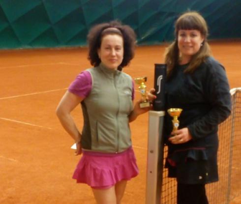 Стефка Бончева спечели Женският вечерен тенис турнир