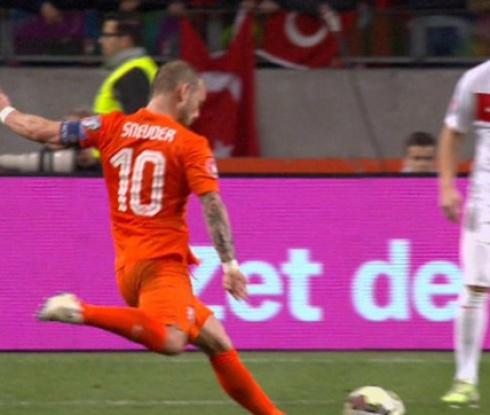 Холандия - Турция 1:1 (видео)