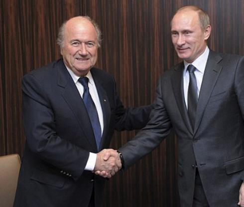Путин поздрави Блатер за изборната победа
