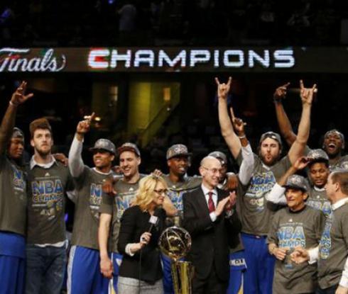 Голдън Стейт са новите шампиони в НБА