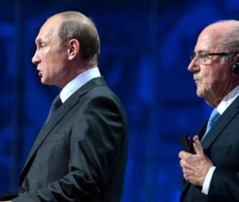 Путин: Блатер е достоен за Нобелова награда