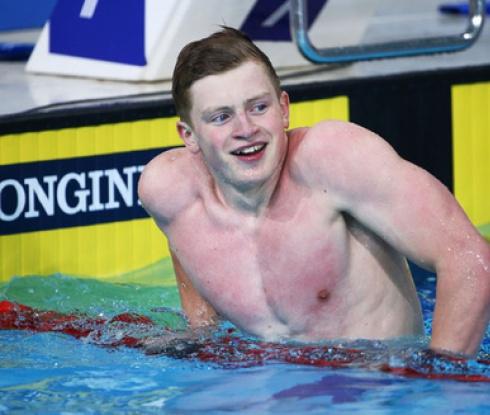Адам Пийти подобри световния рекорд на 50 метра бруст