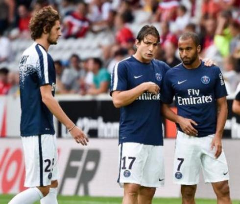 Трудна победа за ПСЖ на старта на Лига 1 (видео)