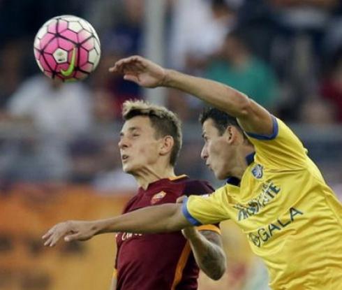 Тонев записа 90 минути при загуба на Фрозиноне от Рома