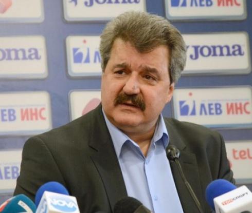Батков: Все още формално съм президент на Левски