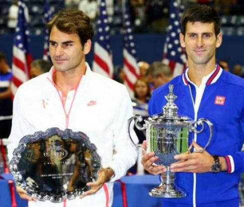 Джокович срещу Федерер в заключителния турнир