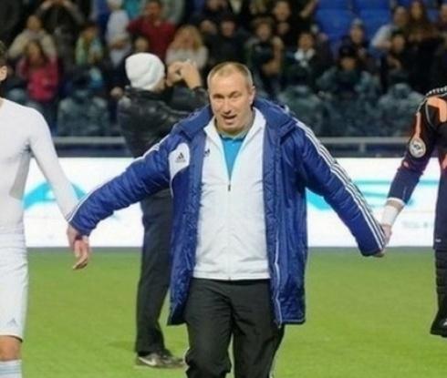 Стоилов: По-трудно ми беше да вкарам Астана в групите на ШЛ, отколкото Левски