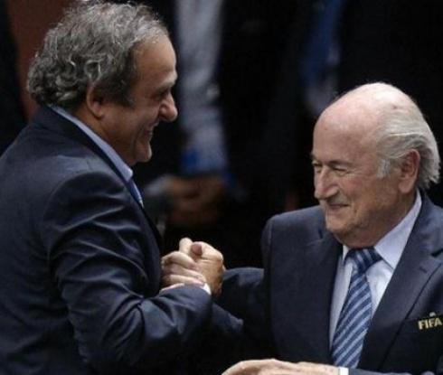 ФИФА обявява решението за Платини и Блатер в понеделник