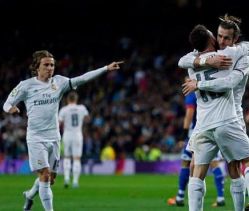 Реал разпиля Ла Коруня в дебюта на Зидан (видео)