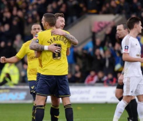 Оксфорд Юнайтед - Суонзи Сити 3:2 (видео)