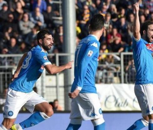 Наполи е зимен шампион в Серия А (видео)
