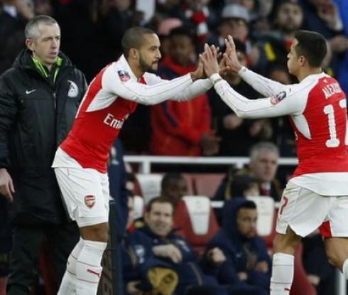 Арсенал продължава за Купата, гол и астенция за Алексис (видео)