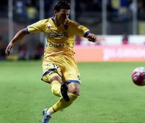 Тонев се завръща в групата на Фрозиноне за мача с Болоня