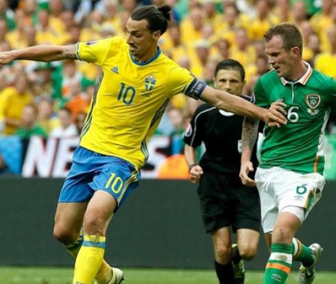 Ирландия и Швеция не успяха да се победят (видео)