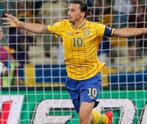 Ибра е част от състава на Швеция за Олимпиадата в Рио