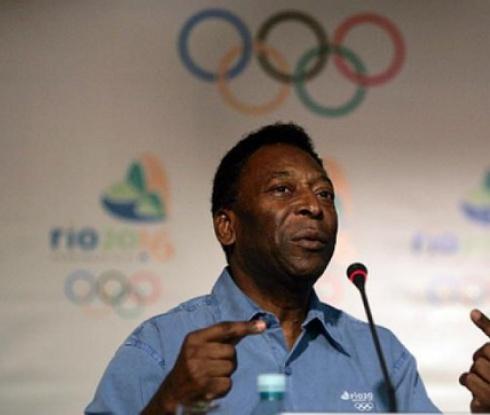 Пеле фаворит за запалването на олимпийския огън