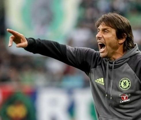 Конте недоволен от Челси след минимална победа срещу слабак