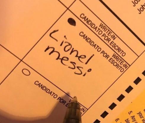 Гласуваха за Меси на изборите в САЩ