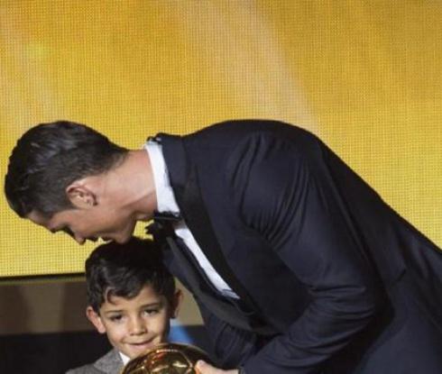 Роналдо: Синът ми е умен като мен