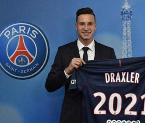 Официално: Юлиан Дракслер е футболист на ПСЖ