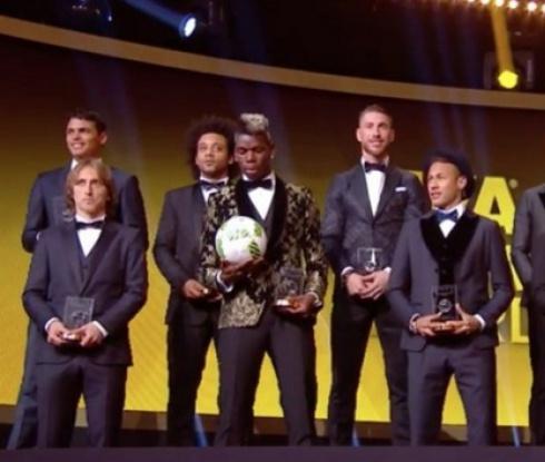 Вижте идеалния отбор на професионалните футболисти за 2016 г.