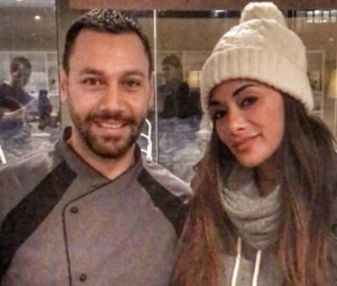 Гришо и Никол на италиански ресторант в София