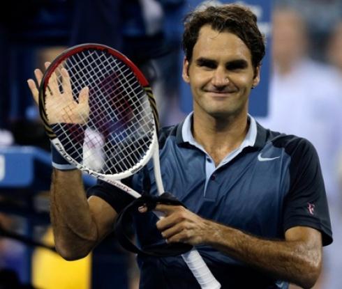 Федерер стартира с експресна победа в Дубай