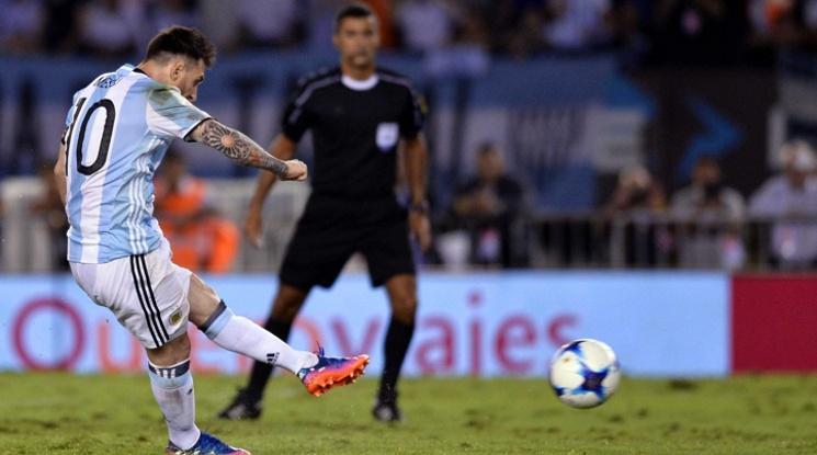 Меси донесе ценен успех на Аржентина срещу Чили (видео)
