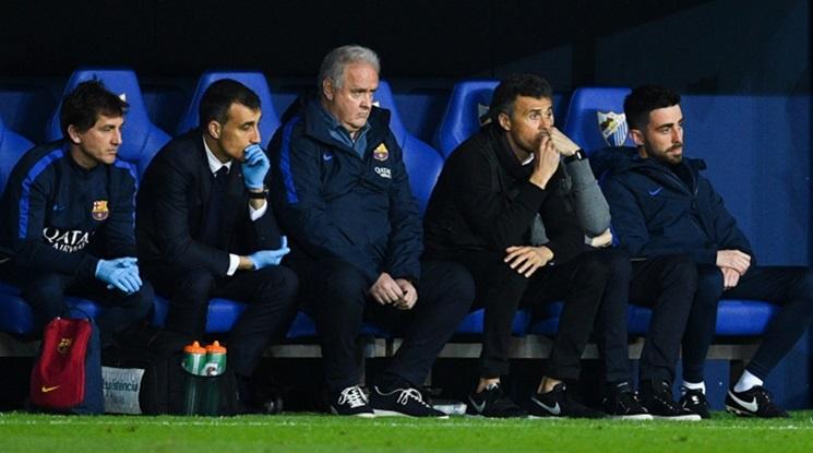 Как Луис Енрике ще реши най-големия кадрови проблем на Барса преди мача в Торино?