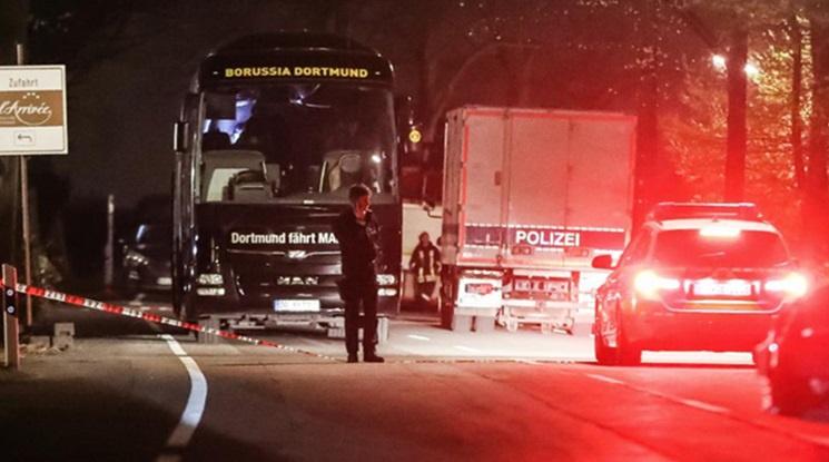 Арестуваха един заподозрян за бомбената атака срещу автобуса на Дортмунд