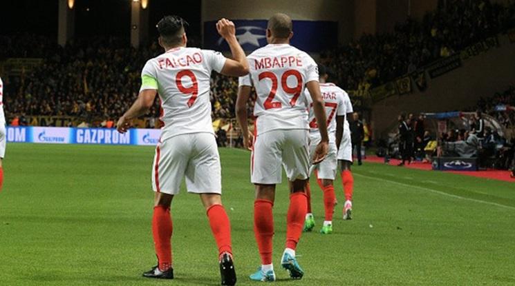 Монако помете Дортмунд и на реванша (снимки и видео)