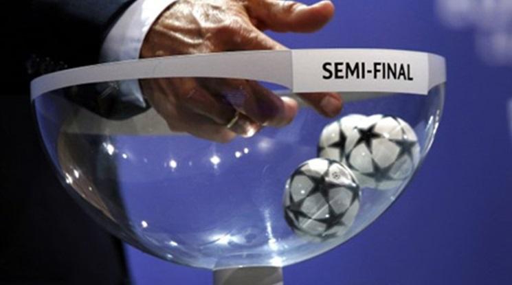 В петък теглят жребия за полуфиналите в Шампионската лига