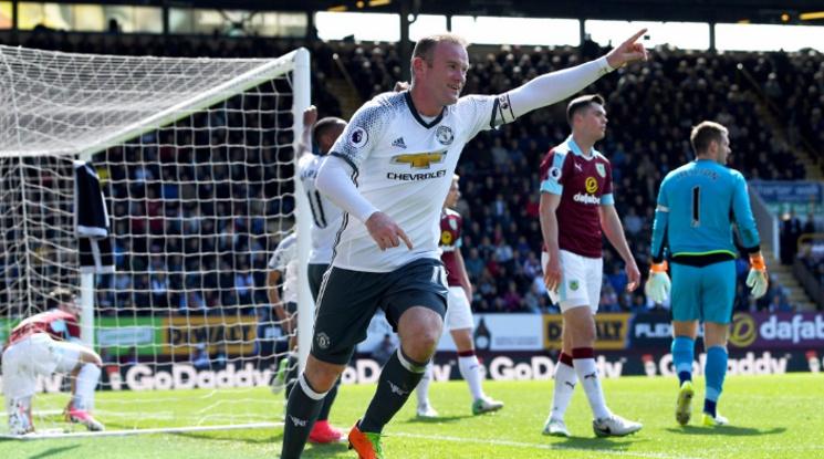 Ман Юнайтед се доближи на точка от топ 4 след успех срещу Бърнли (видео)