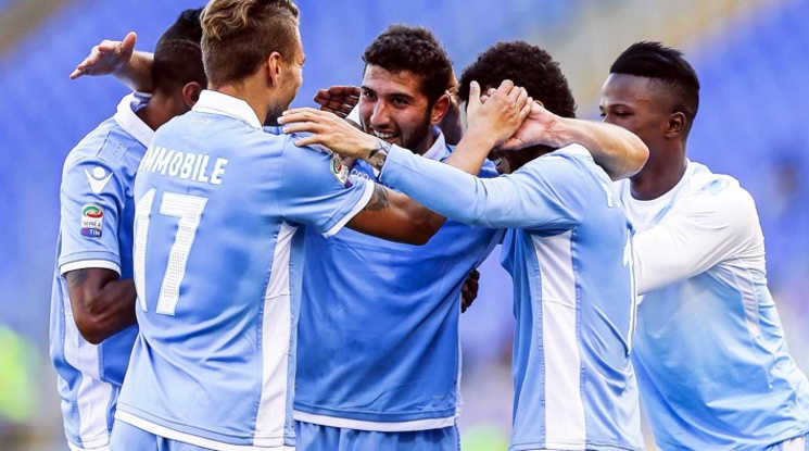 Лацио вкара шест на Палермо, Милан загуби у дома от Емполи (видео)
