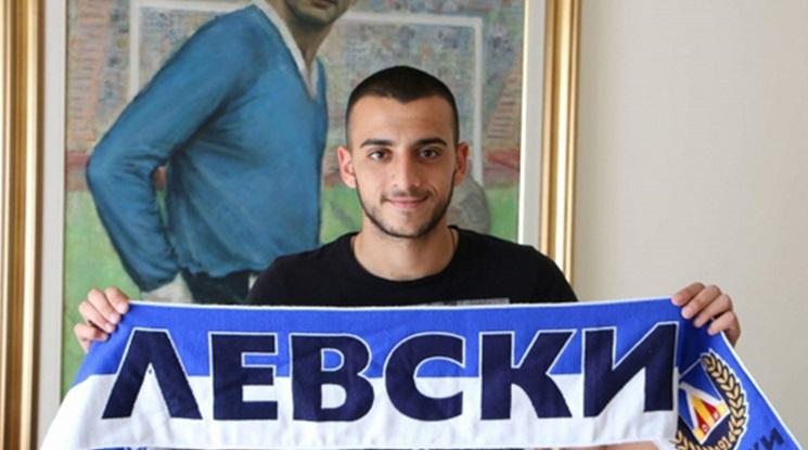 Деян Иванов преподписа с Левски до 2020 година