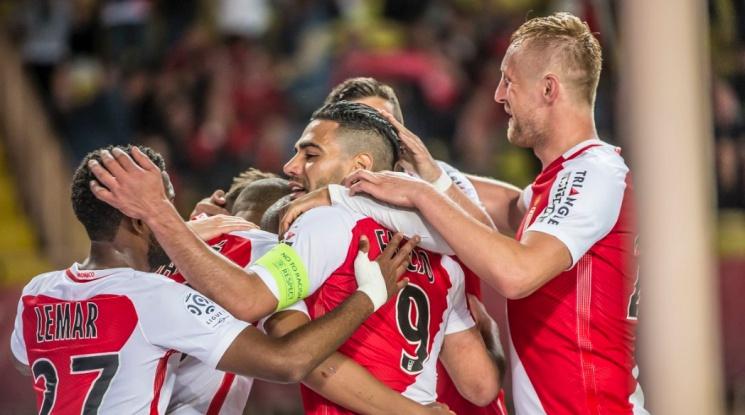 Монако прегърна титлата в Лига 1 (видео)