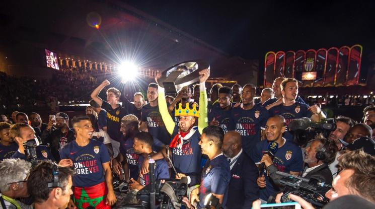 Монако е новият шампион на Франция! (видео)